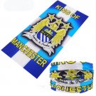 MUNCHESTER CITY FC Crezy Skull Motorcycle Cycling Neck Scarf Half Face Mask Bandana Ski