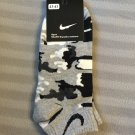 Nike GREY Camouflage socks,camo, military, army print for men, kids low cut