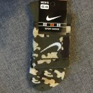 Nike Green Camouflage socks,camo socks for men, kids, Military, Army