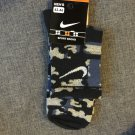 Nike Blue Camouflage socks,camo socks for men, kids, Military, Army