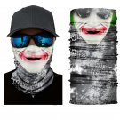 Crazy Joker/Batman #2 Face Mask Cycling Scarf Bandanas Ski Winter Biker Mask