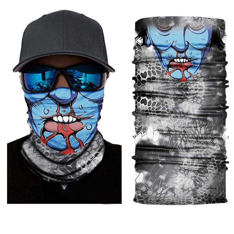 Crazy Blue Zombie Face Mask Cycling Scarf Bandanas Baraclava Ski Winter Biker Mask