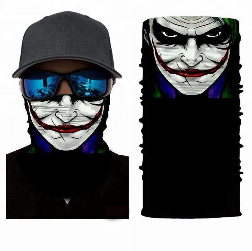 JOKER #4 Crazy Face Mask Cycling Scarf Bandanas Ski Winter Biker Mask