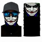 JOKER #4 Crazy Face Mask Cycling Scarf Bandanas Ski Winter Biker Mask