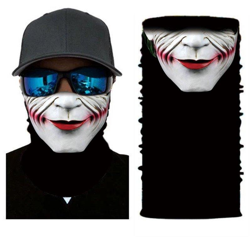 JOKER #3 Crazy Face Mask Cycling Scarf Bandanas Ski Winter Biker Mask