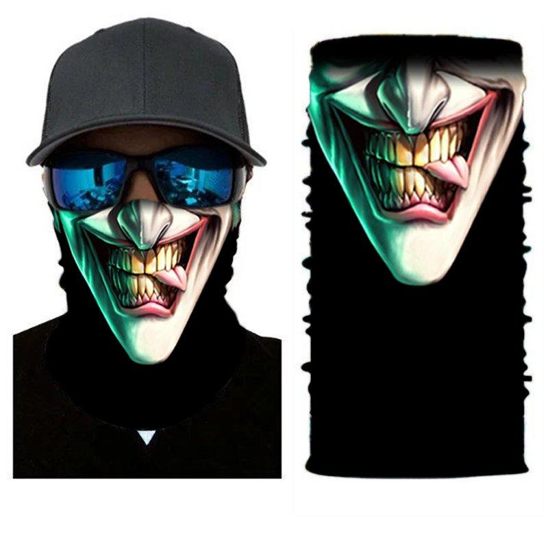JOKER #12 Crazy Face Mask Cycling Scarf Bandanas Ski Winter Biker Mask