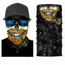 SKULL BIKER Crazy Face Mask Cycling Scarf Bandanas Ski Winter Biker Mask