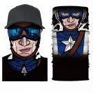 CAPETAN AMERICA #2 Crazy Face Mask Cycling Scarf Bandanas Ski Winter Biker Mask