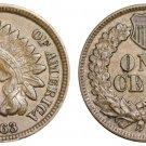 Souvenir USA Indian Head 1863 Small Cent - Free Shipping