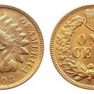 Souvenir USA Indian Head 1908 S Small Cent - Free Shipping