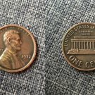 Souvenir USA Lincoln Penny 1972 Double Die Obverse Small Cent - free shipping