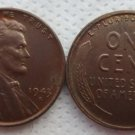 Souvenir USA Lincoln Penny 1943 S Small Cent - free shipping