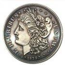 Souvenir 50C Morgan Half Dollar 1877 90% Silver Coin - free shipping