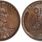 Souvenir USA Lincoln Penny 1943 D Small Cent - free shipping