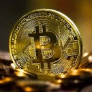 Souvenir Gold Plated Bitcoin Hand made Item Gift Coin - FREE SHIPPING