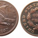 Souvenir USA New Flying Eagle 1857 Copper Small Cent - Free Shipping