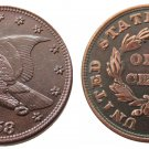 Souvenir USA New Flying Eagle 1858 Copper Small Cent - Free Shipping