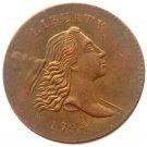 Souvenir USA 1794 Liberty Cup Half Cent Copper - Free Shipping