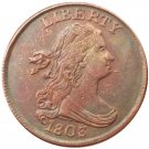 Souvenir USA 1803 Draped Bust Half Cent  Copper - Free Shipping
