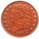 Souvenir USA 1810 Classic Head Half Cent  Copper - Free Shipping