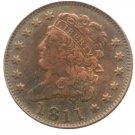 Souvenir USA 1811 Classic Head Half Cent  Copper - Free Shipping