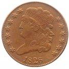 Souvenir USA 1826 Classic Head Half Cent  Copper - Free Shipping