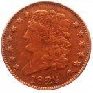 Souvenir USA 1828 Classic Head Half Cent  Copper - Free Shipping