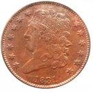 Souvenir USA 1831 Classic Head Half Cent  Copper - Free Shipping