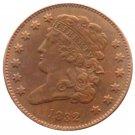 Souvenir USA 1832 Classic Head Half Cent  Copper - Free Shipping