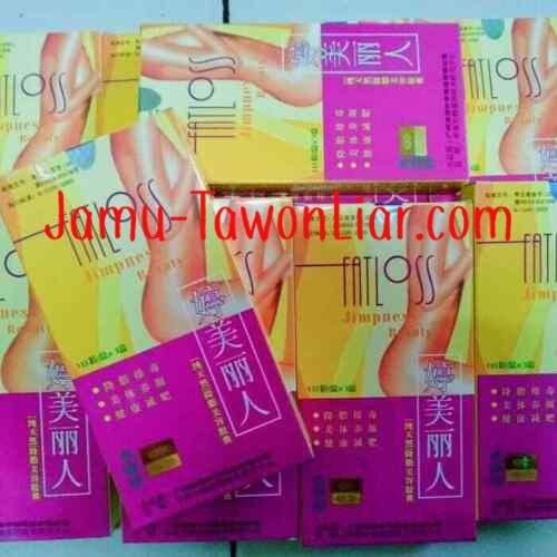 3 boxs FATLOSS Jimpness Beauty @30 caps lose weight ...