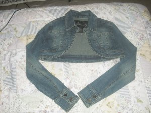 Cute blue jean jacket!