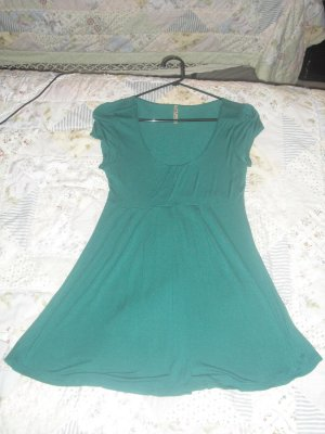 *cute* teal top/dress size m