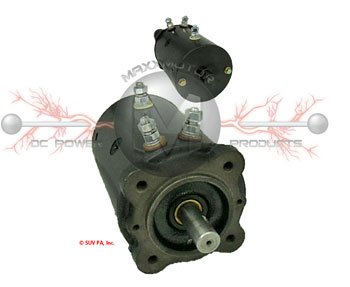 24V Motor for Ramsey Pierce and Vime Winches 3 Posts Bi Directional