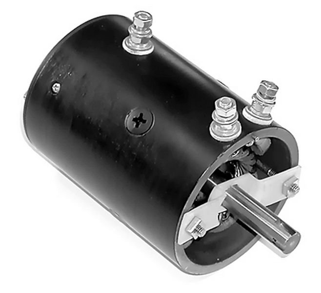Motor with Bar Key Slot for Warn and Braden Winches W8941