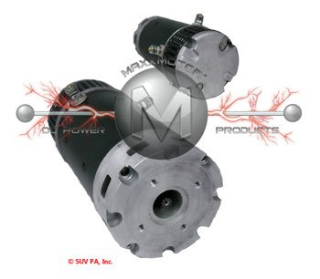24 Volt Motor for JLG 2646E Scissor Lift 9 Spline Manual in Ad W5106