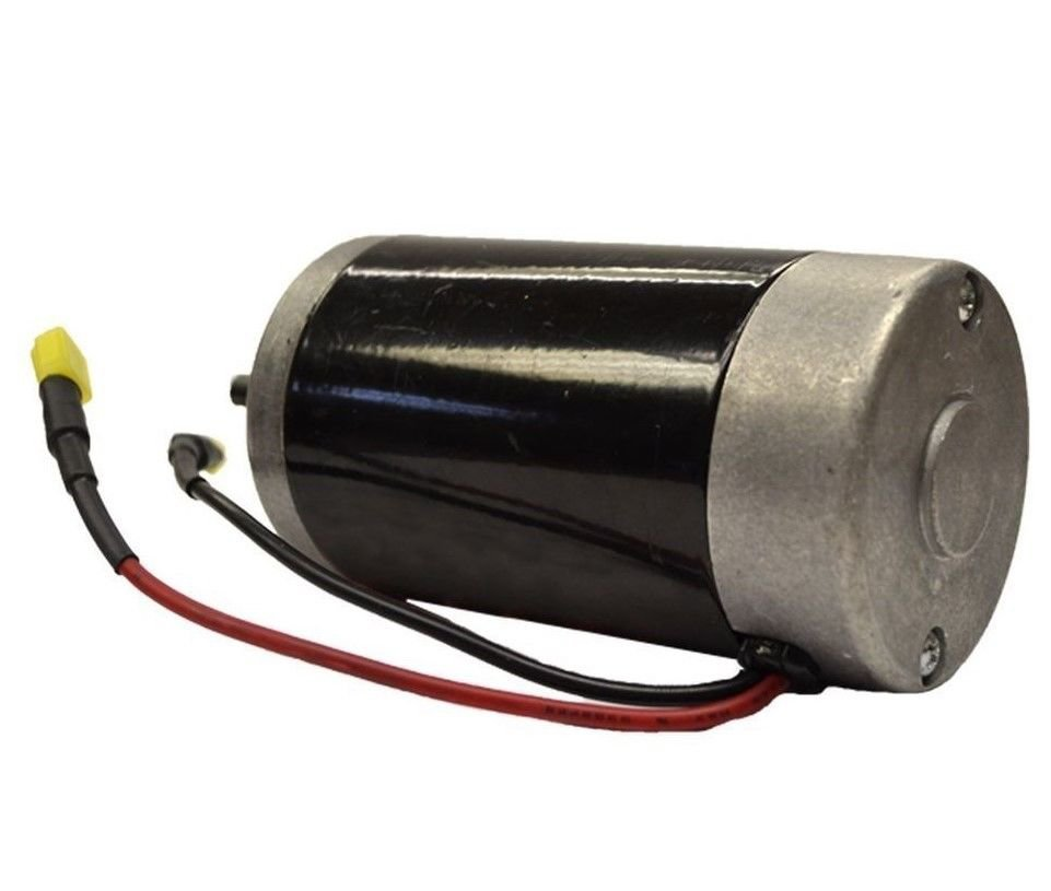 Motor for Western and Fisher Salt Spreaders W2809 Wires Attached