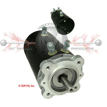Winch Motor for Ruger Equipment and Cranes Bi Rotational Keyway W8927
