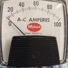 General Electric AC Amperes Meter