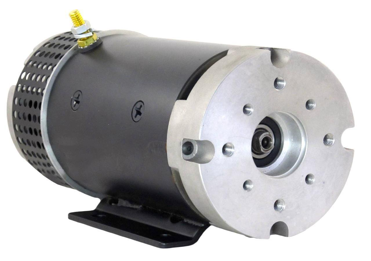 Heavy Duty 24 Volt Motor with Chrysler Amplex Shaft CW for Barnes and Ohio