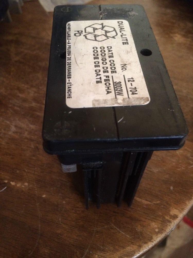 Dual Lite 12-704 Battery