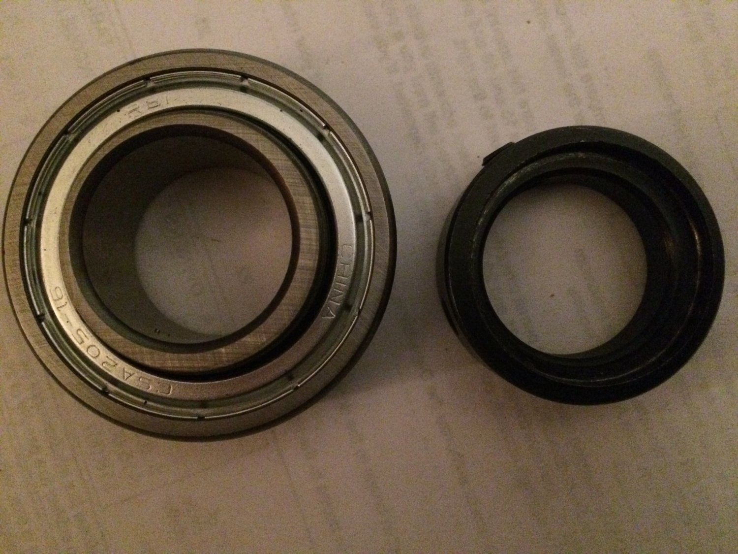 CSA205-16 Insert Bearing with Locking Collar.