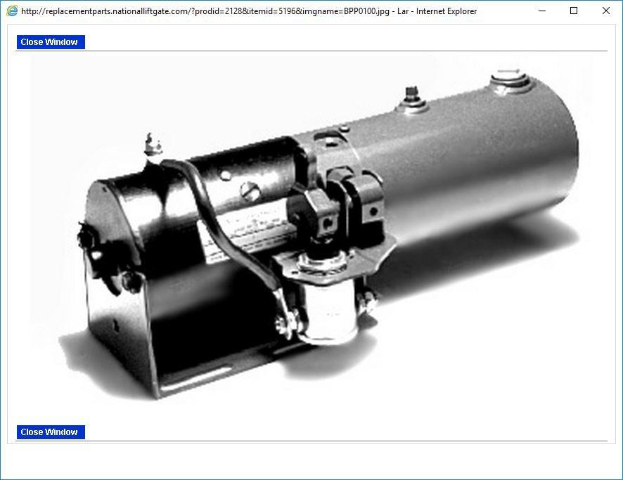 Gravity Down Manual Heavy Duty Power Unit 2.5 Gallons Waltco 70400300 Waltco 26295000
