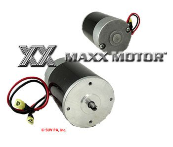 Bi Directional Motor for Curtis  Slotted with Wires