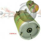 24V Pump Motor 9 Spline Double Ball Bearing Insulated Ground
