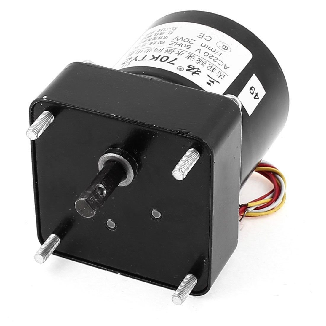 AC220V 15RPM 50KG.CM High Torque Reversible Synchronous Gear Motor Speed Reducer