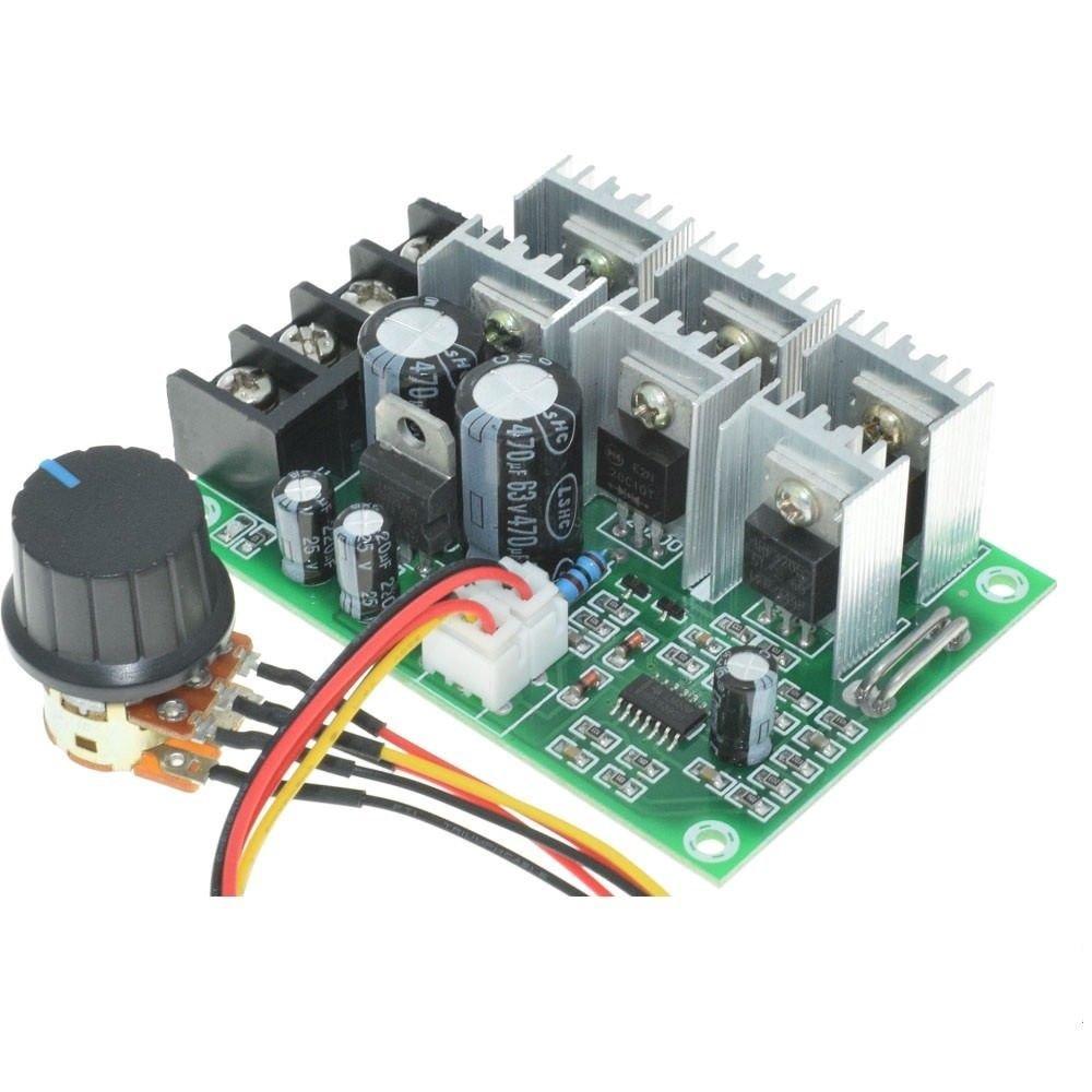 DC 10-55V 40A Motor Reducer Brush DC Motor Speed Controller Overload Protection