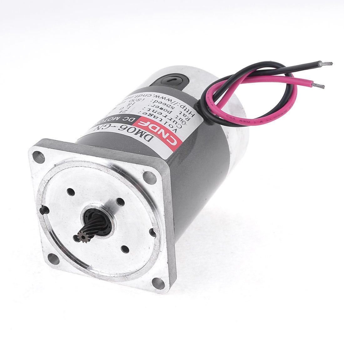 DC 24V 1800RPM High Torque Speed Reducing Gearbox Geared Motor