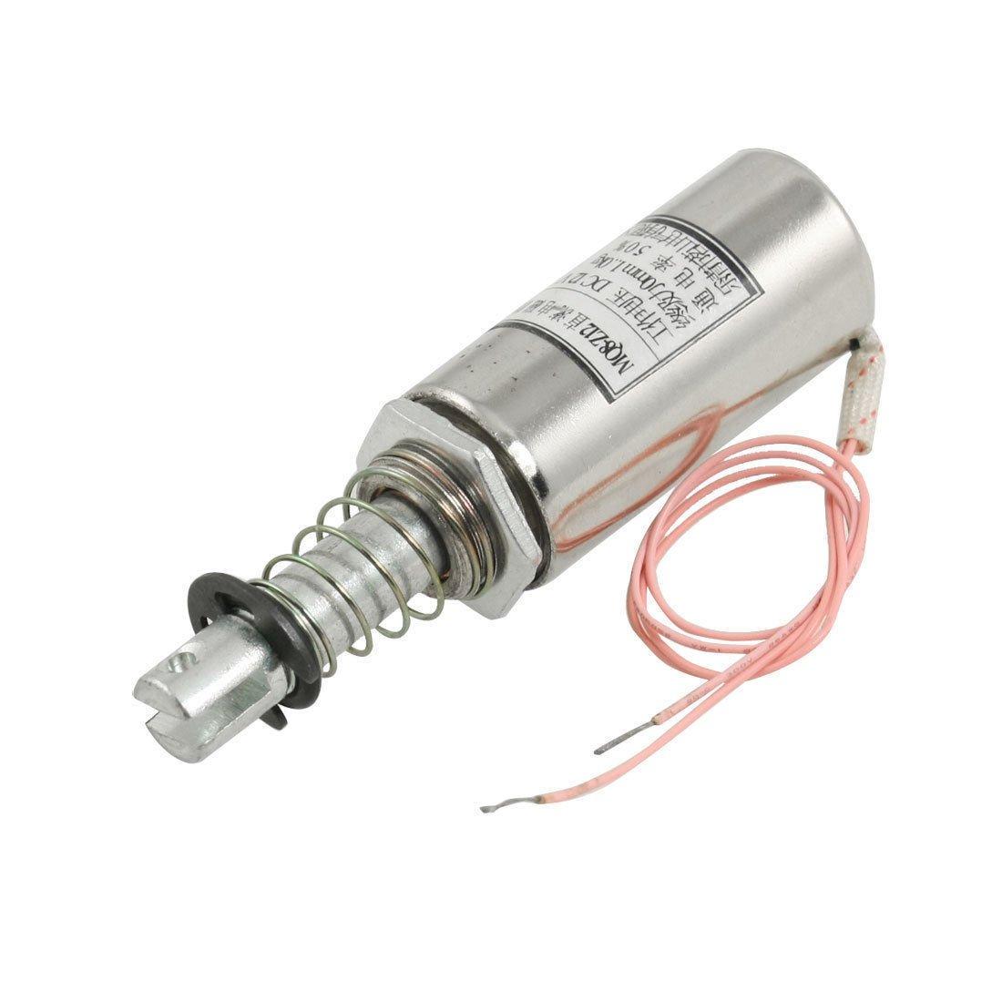 MQ8-Z12 Pull Type DC 12V Linear Tubular Solenoid Electromagnet