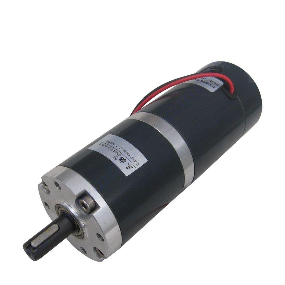 DC 24V 60RPM 65KG.CM 60mm Diameter High Torque DC Planetary Gear Motor Reducer