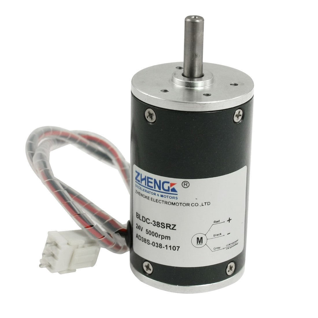 DC 24V 5000RPM 0.73A 300G.cm Brushless Speed Control Motor